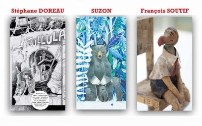 FINISSAGE EXPOSITION TROIS ILLUSTRATEURS